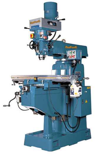 Conventional Milling Machine : Conventional milling machine paofong vertical