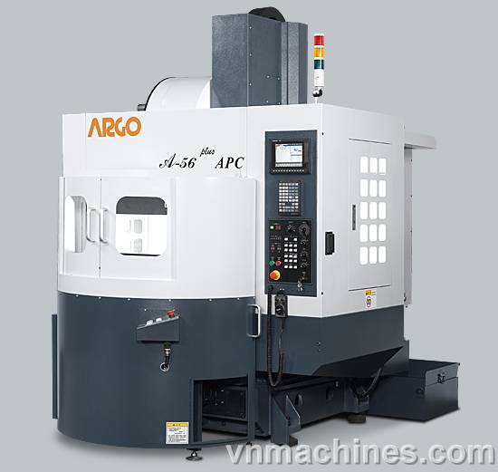 <p>Argo Milling Machine CNC Hi-Speed Machining Center A-56-Plus APC A-56T APC, APC w/two Rotary table (optional) Control Unit FANUC / MITSUBISHI / SIEMENS</p>